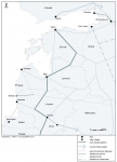 Transports terrestres en Baltique Orientale