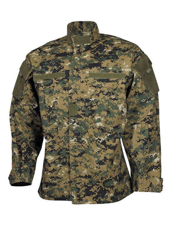veste militaire usa legere camo acu digital woodland