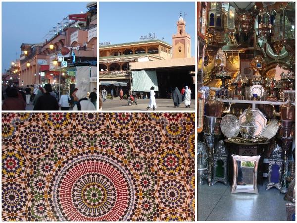 Lojas de Marrakech