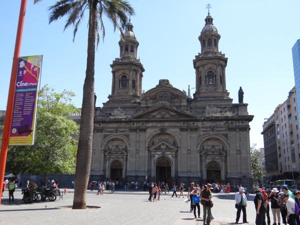 A Catedral Metropolitana de Santiago