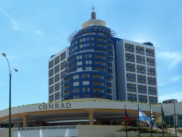 O famoso Hotel Conrad
