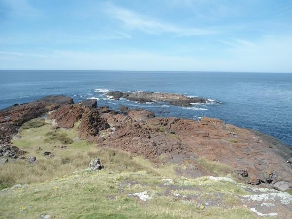 A pontinha da península de Punta Ballena