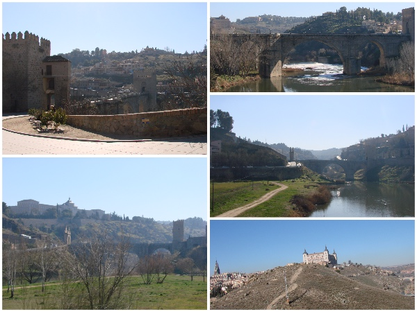 Toledo de trem