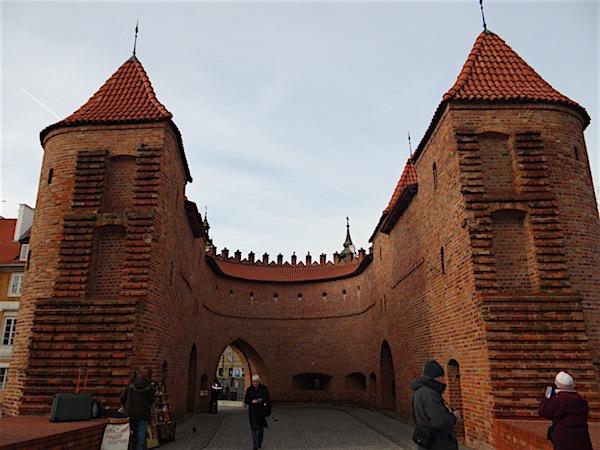 Barbacan Varsóvia