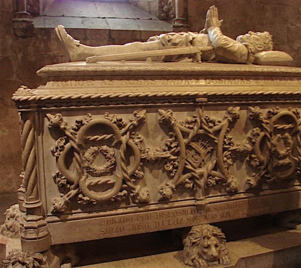 O túmulo de Camões