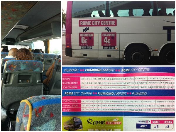 Ônibus Terravision Roma