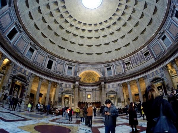 O interior do Pantheon