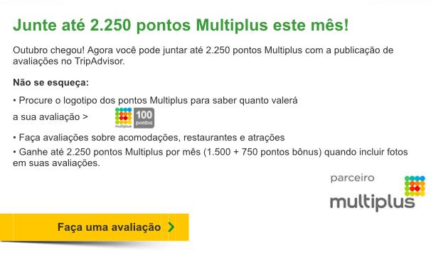 Multiplus e Tripadvisor