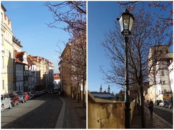 Ruas de Praga