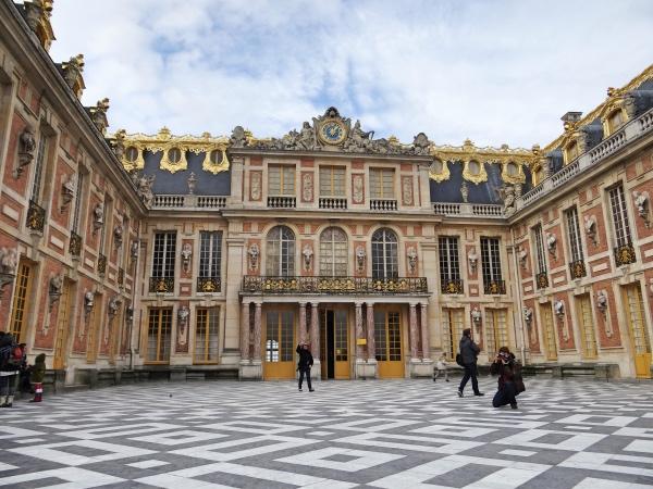 Uma espaço aberto dentro do palácio. Simplesmente lindo!