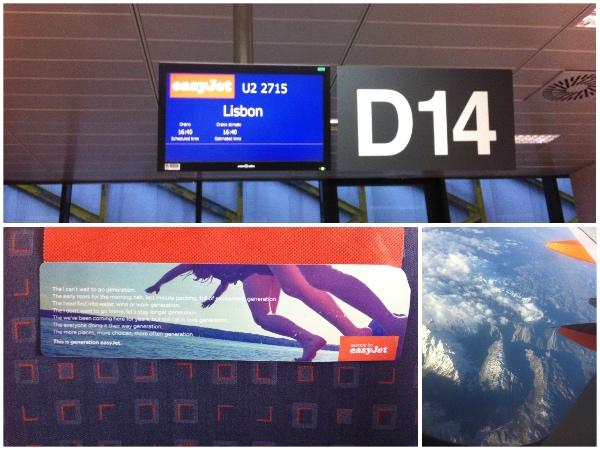 Voo Praga Lisboa; detalhe para o assento da poltrona (que era mais largo) e vista do voo Lisboa Paris