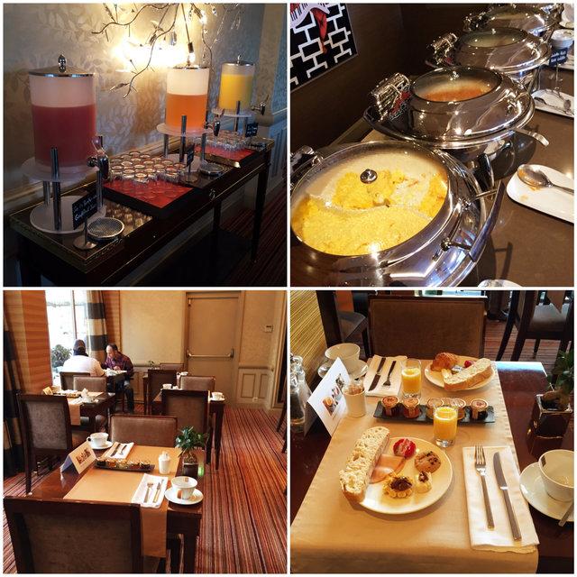 Warwick Geneva Café da Manhã