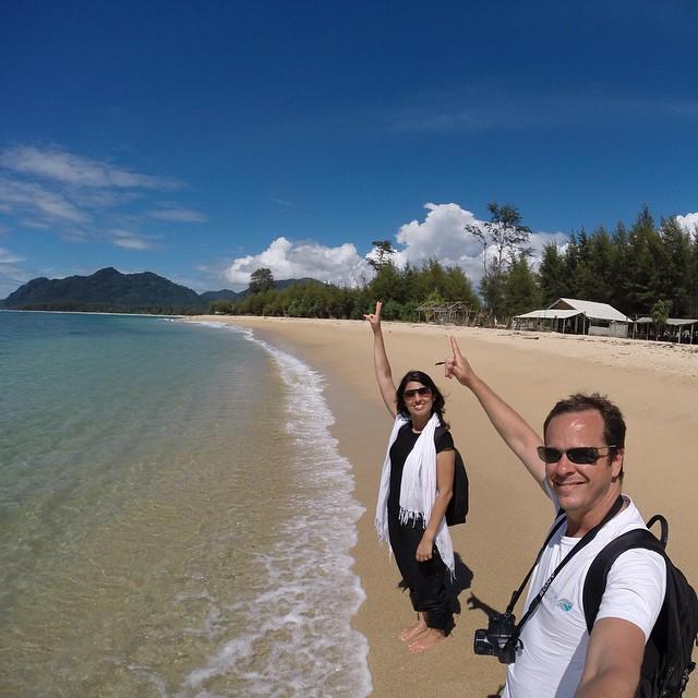 Banda Aceh é uma paraíso na ilha de Sumatra, Indonésia