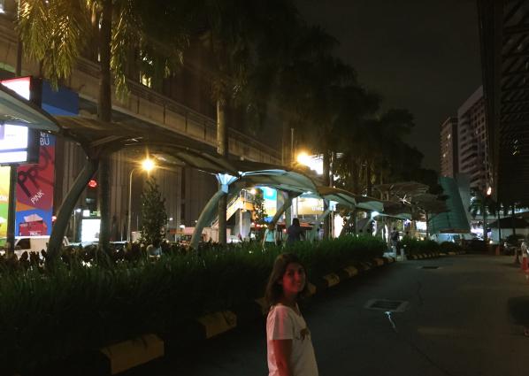 Cobertura dos pontos de ônibus em KL