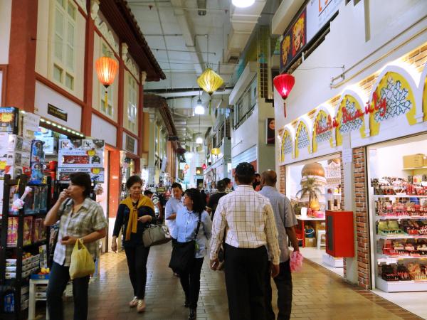 Dentro do Central Market