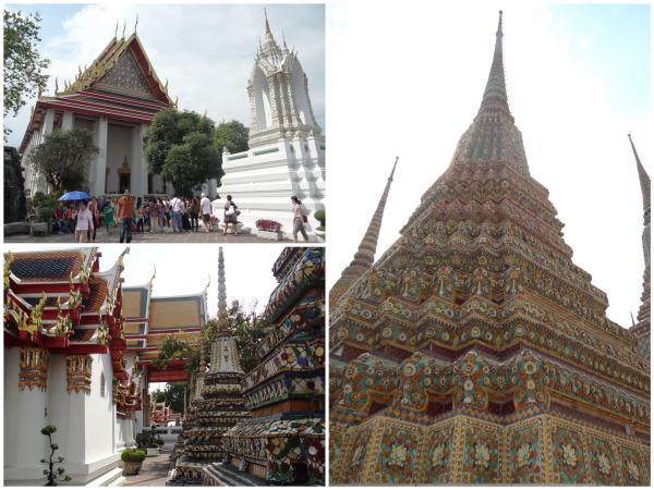 Dentro do Wat Pho