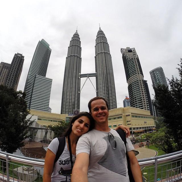 Petronas Towers, um dos grandes símbolos de Kuala Lumpur, capital da Malásia
