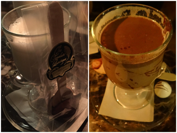 Chocolate quente Riga Black Magic