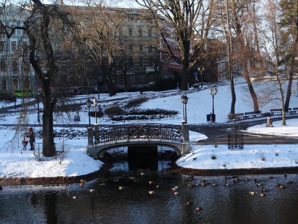 Inverno em Riga