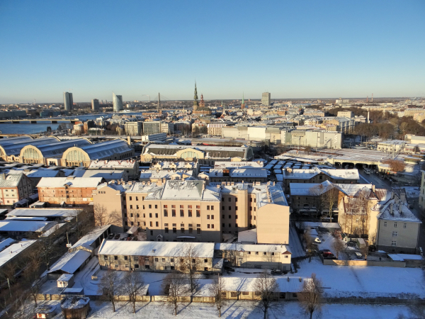 Riga do Alto da Latvia Academy of Sciences