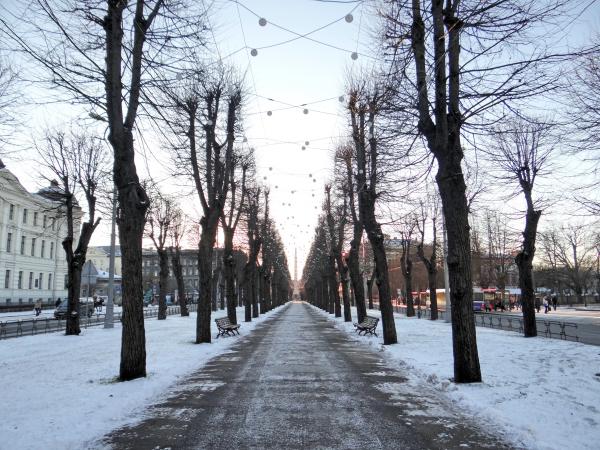 Riga no inverno