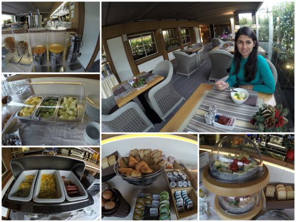 Café da manhã hotel Babuino 181