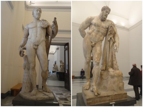 Esculturas do Museu Arqueológico Nacional