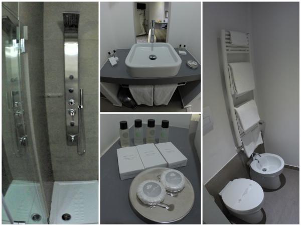 Hotel Santa Brigida Nápoles Banheiro