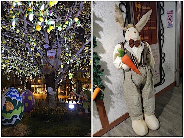 Decoração de Páscoa na Vila Germânica Blumenau