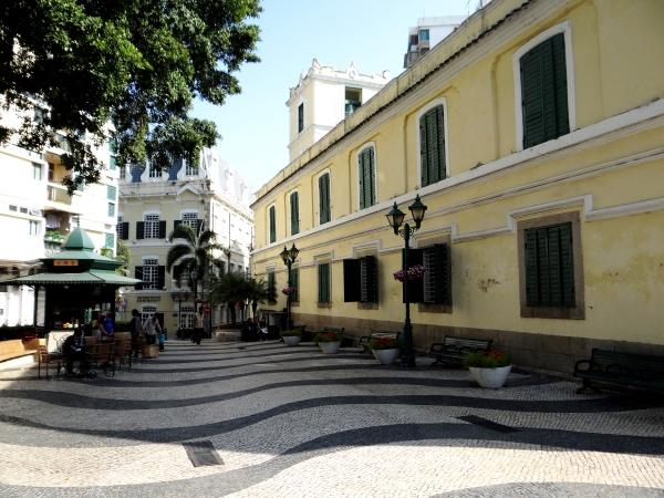 Lateral da Igreja de Santo Agostinho Macau