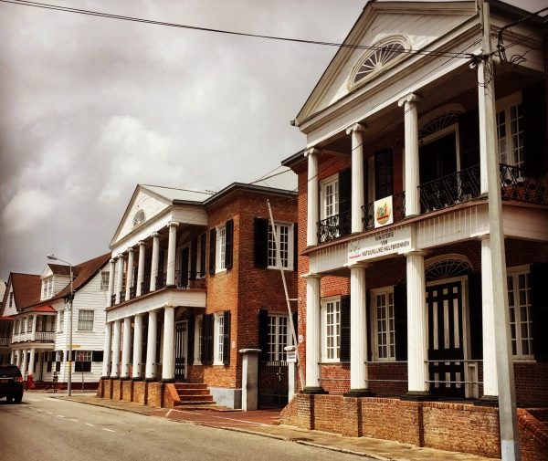 Arquitetura colonial de Paramaribo