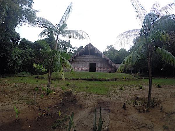 Chegando à Reserva São João do Tupé