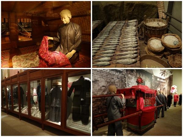 Acervo do museu da história de Hong Kong