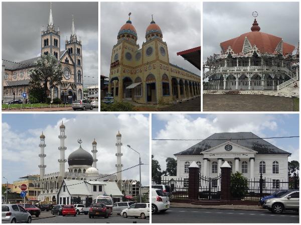 Templos Religiosos em Paramaribo