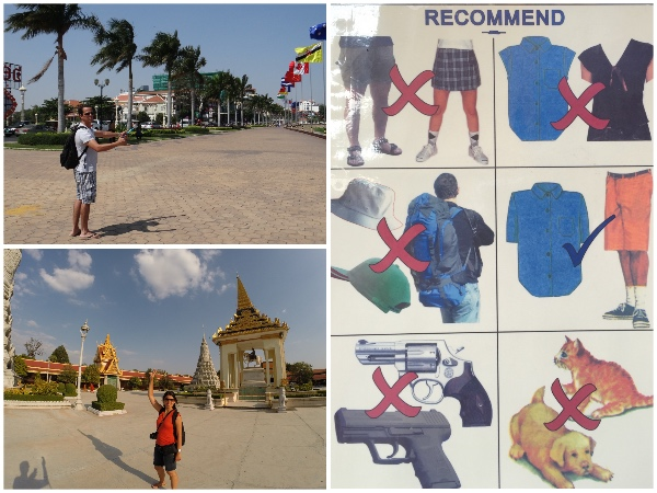 Templo em Phnom Penh
