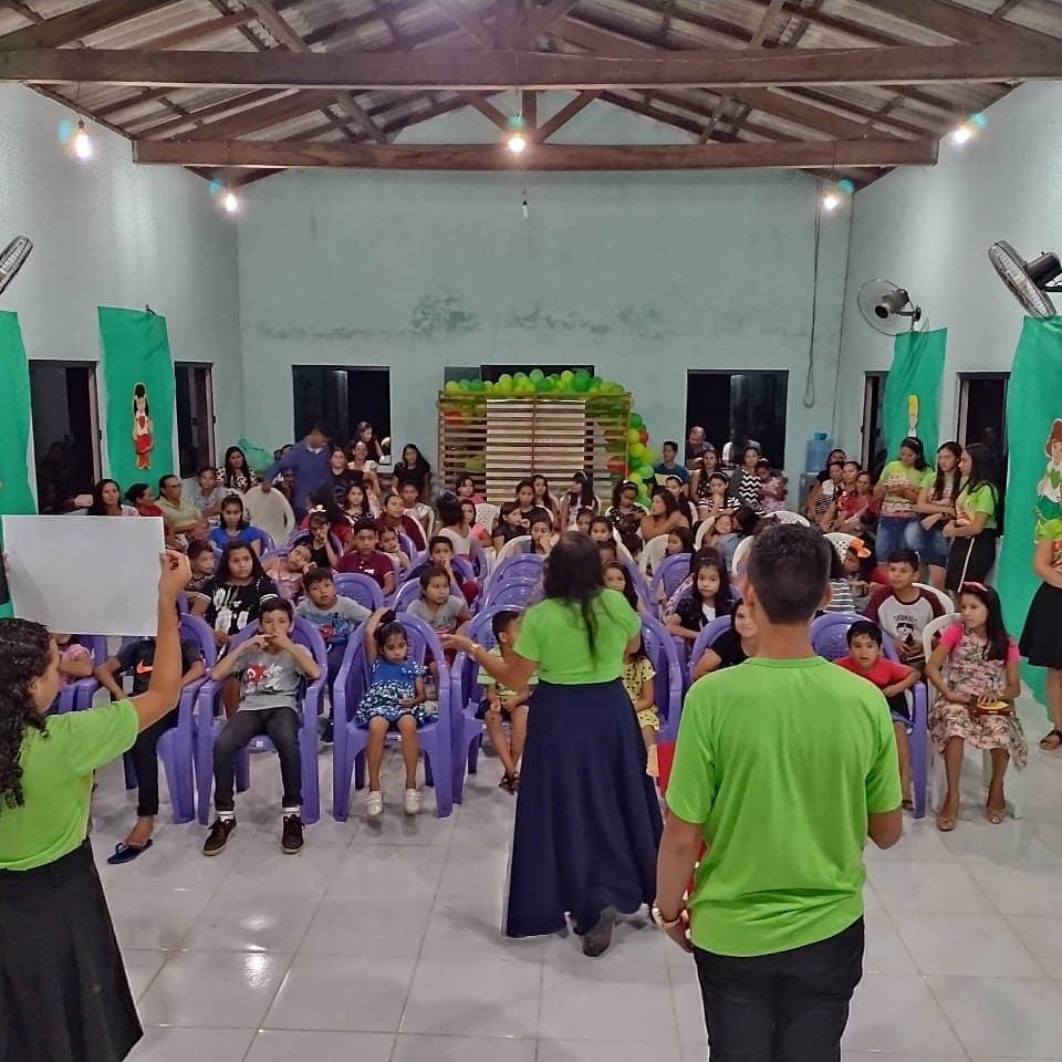 """Nesta EBF trouxemos a história Missionária """"Pakau, a chamada, o preço e a recompensa de uma missionária na Amazônia"""""""