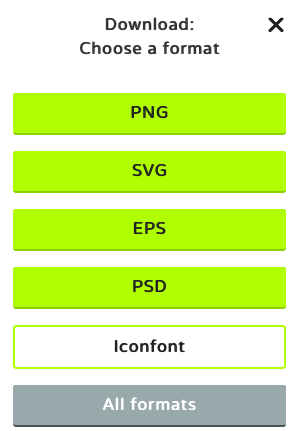 flaticon domoticz icone format svg