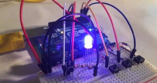 arduino rgb led individual color