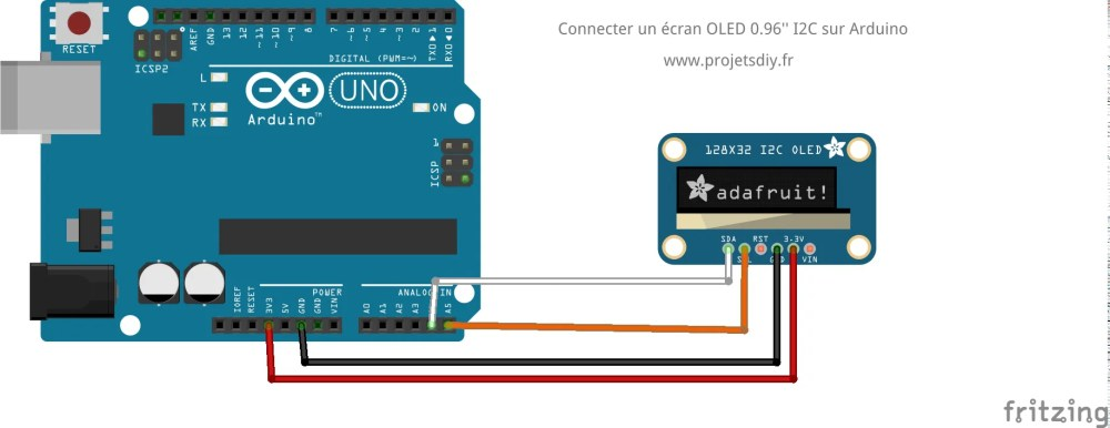 medium resolution of circuit ecran oled i2c ssd1306 arduino
