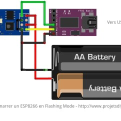 4 Pin Flasher Relay Wiring Diagram Variable Refrigerant Flow Esp-01 : Réinstaller Le Firmware D'origine Nodemcu (esp8266)
