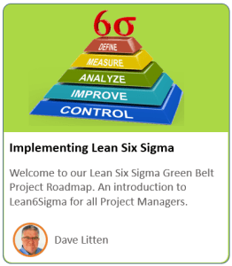 Lean Sig Sigma Course Product Logo