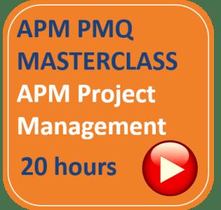 APM PMQ Project Management Masterclass Management