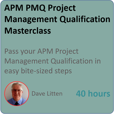 APM PMQ Project Management Masterclass Management