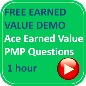 free earned value pmp questions logo green