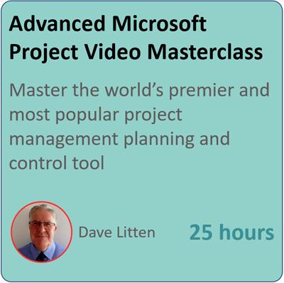advanced microsoft peojct video masterclass
