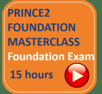 PRINCE2 Foundation Foundation