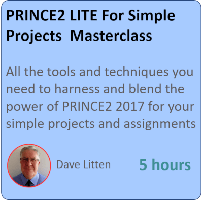 PRINCE2 LITE - Managing Small Projects with PRINCE2 PRINCE2