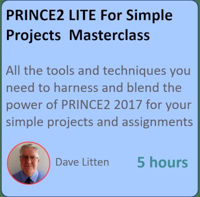 Prince2 lite masterclass