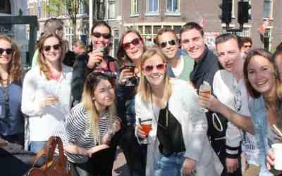 7 mei 2017 – Lentebierwandeling Leiden