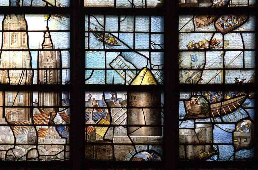 Groepswijs V – Wat is het verband tussen Leidens Ontzet, Delfs geld, Gouds glas en Rembrandt?